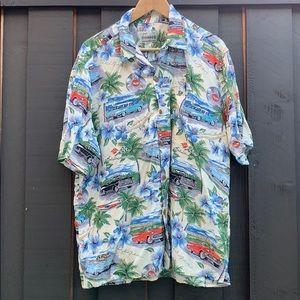 Reyn Spooner Classic Car Hawaiian Shirt